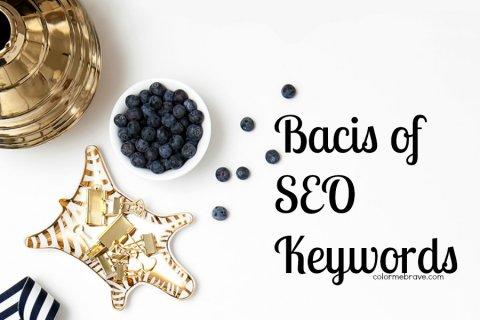 Basics of SEO Keywords|